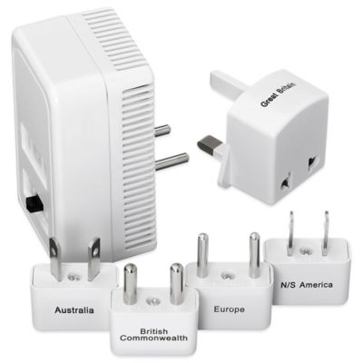 Go Travel Worldwide 1875 watt Adapter Kit and Converter