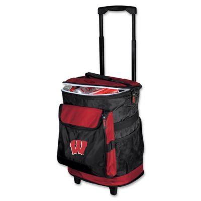 University of Wisconsin Rolling Cooler