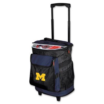 University of Michigan Rolling Cooler