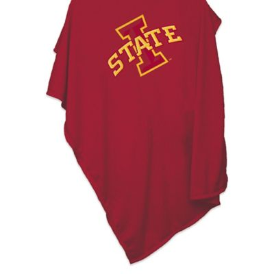 Iowa State University 84-Inch x 54-Inch Sweatshirt Throw Blanket