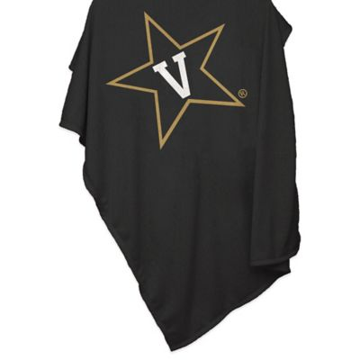 Vanderbilt University 84-Inch x 54-Inch Sweatshirt Throw Blanket