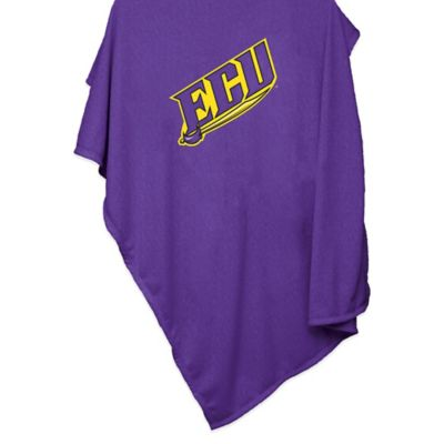 East Carolina University 84-Inch x 54-Inch Sweatshirt Throw Blanket