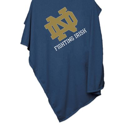NCAA Notre Dame 54-Inch x 84-Inch Sweatshirt Throw Blanket