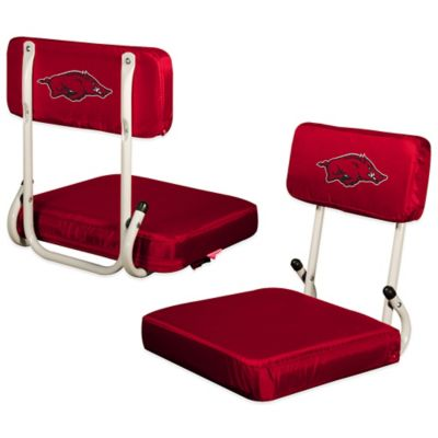 University of Arkansas Hard Back Stadium Seat