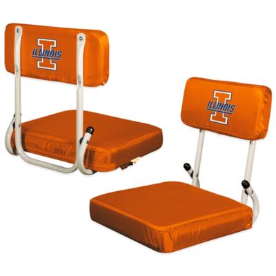 University of Illinois Hard Back Stadium Seat