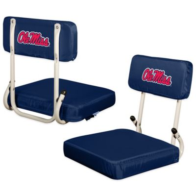 University of Mississippi Hard Back Stadium Seat
