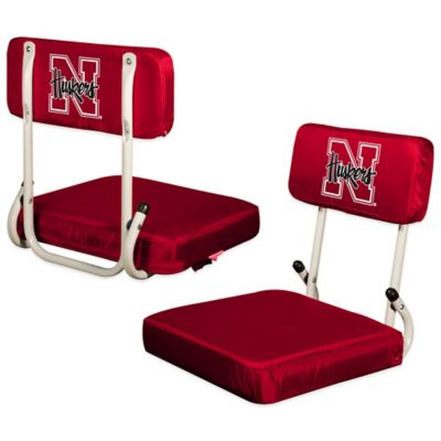 University of Nebraska Hard Back Stadium Seat