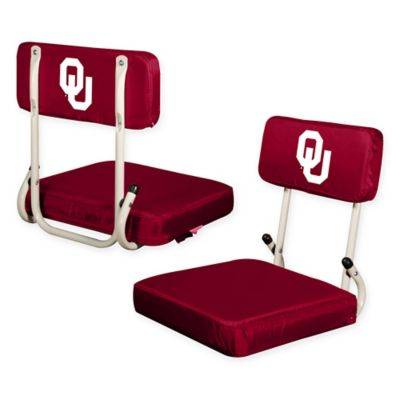 University of Oklahoma Hard Back Stadium Seat