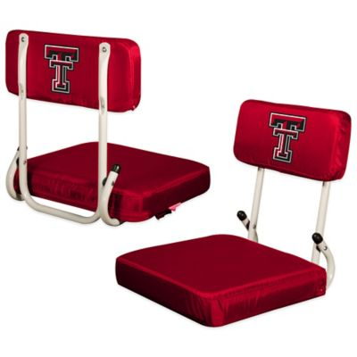 Texas Tech University Hard Back Stadium Seat