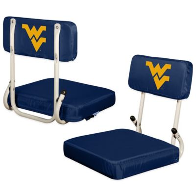 West Virginia University Hard Back Stadium Seat