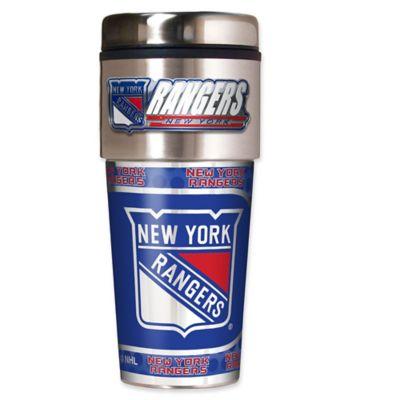 NHL New York Rangers 16 oz. Metallic Tumbler