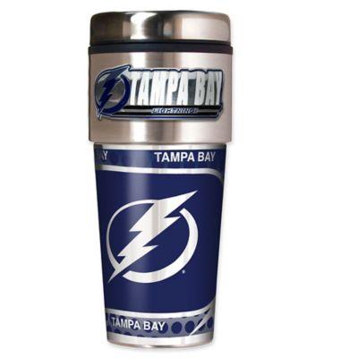 NHL Tampa Bay Lightning 16 oz. Metallic Tumbler