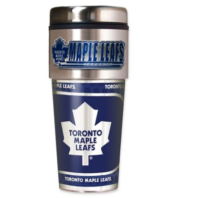 NHL Toronto Maple Leafs 16 oz. Metallic Tumbler