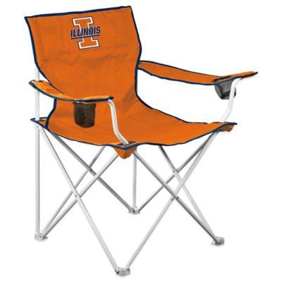 Illinois University Collegiate Elite Folding Chair