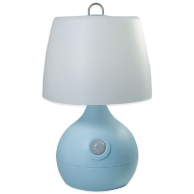 Mighty Bright Baby Bright LED Nursery Motion Sensor Light in Blue