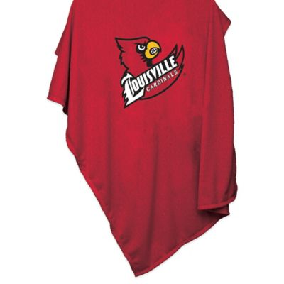 University of Louisville 84-Inch x 54-Inch Sweatshirt Throw Blanket
