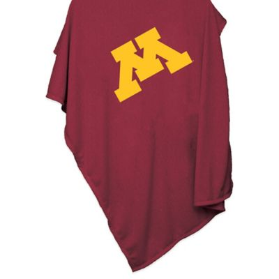 University of Minnesota 84-Inch x 54-Inch Sweatshirt Throw Blanket