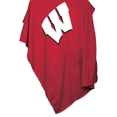 University of Wisconsin 84-Inch x 54-Inch Sweatshirt Throw Blanket