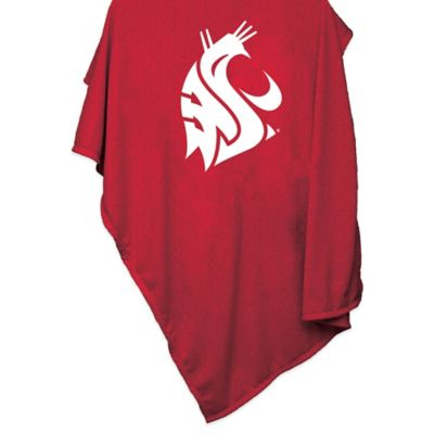 Washington State University 84-Inch x 54-Inch Sweatshirt Throw Blanket