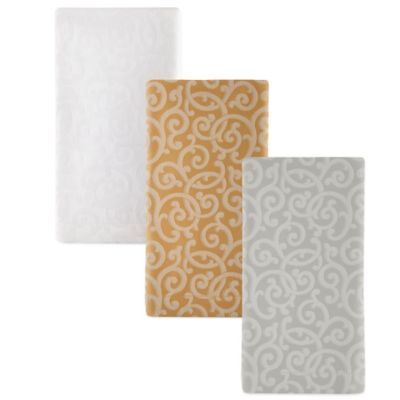 Waterford® Channing 21-Inch x 21-Inch Napkin in Gold