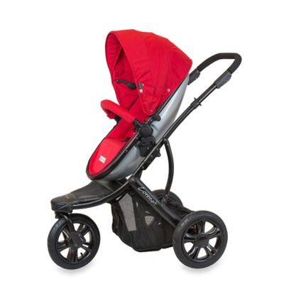 guzzie+Guss Connec+™ +3 Stroller in Red