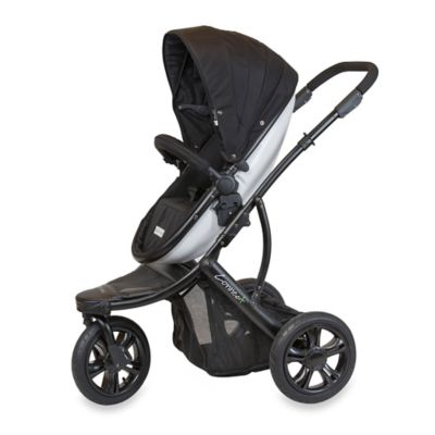 guzzie+Guss Connec+™ +3 Stroller in Black