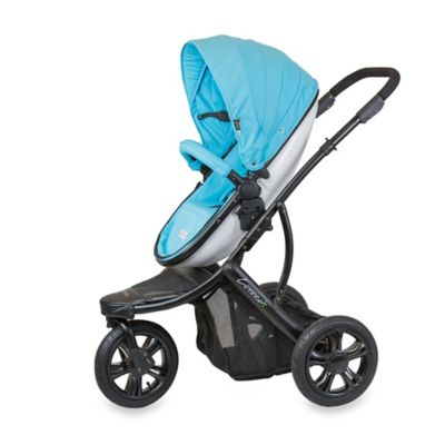 guzzie+Guss Connec+™ +3 Stroller in Blue