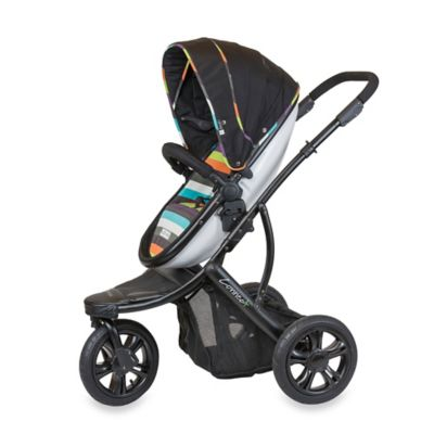 guzzie+Guss Connec+™ +3 Stroller in Stripe