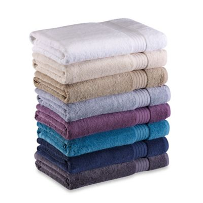Frette At Home Milano Bath Towel in Dusty Blue