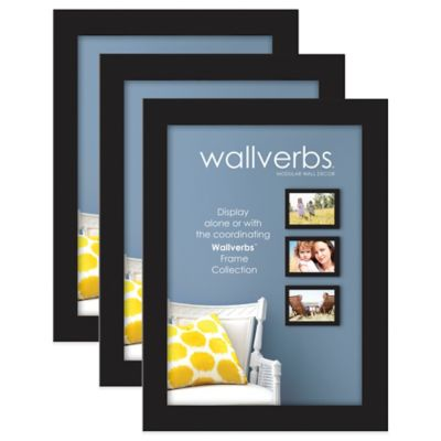 Wallverbs™ 3-Piece Family Tree and Stacked Woods Frame Set