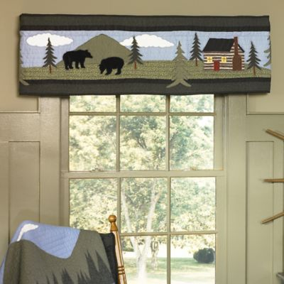 Donna Sharp Bear Lake Window Valance