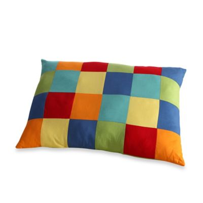 Fiesta® Dash Pic Stich 18-Inch Square Throw Pillow