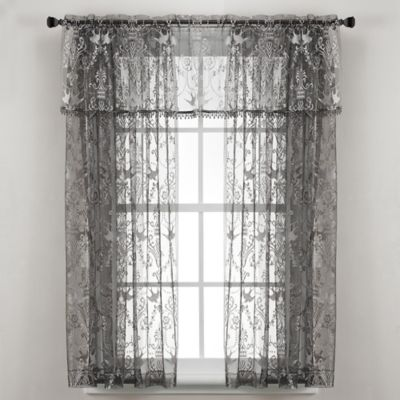 Pewter Window Treatments