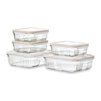 Retro 10-Piece Food Storage Set