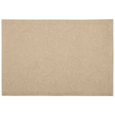 Waterford® Linens Chelsea 13-Inch x 19-Inch Placemat in Gold