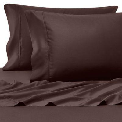 Chocolate Pillowcase Pair