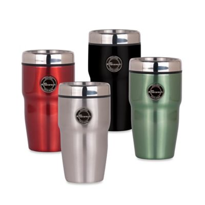 Hot and Cold 12 oz. Travel Tumbler in Black