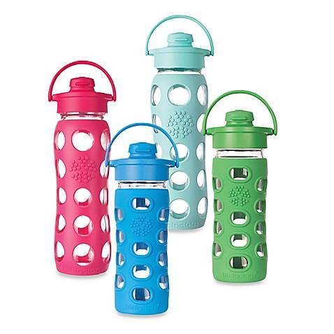 Lifefactory flip cap bottle bed bath beyond for Bathroom bottles