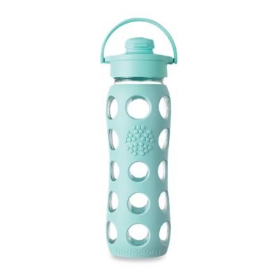 Life Factory® 22 oz. Glass Water Bottle with Flip Cap in Turquoise