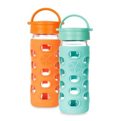 Lifefactory® 12 oz. Classic Cap Bottle in Orange