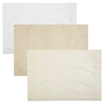 Waterford® Lucida 13-Inch x 19-Inch Placemat in Gold