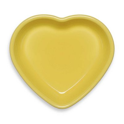 Fiesta® Medium Heart Bowl in Sunflower