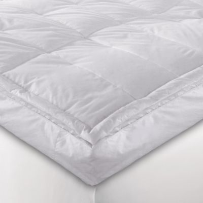 "5"" White Down Blend Pillowtop Full Featherbed"