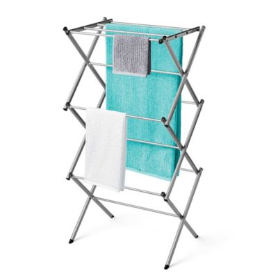 Fold Out Clothes Drying Rack