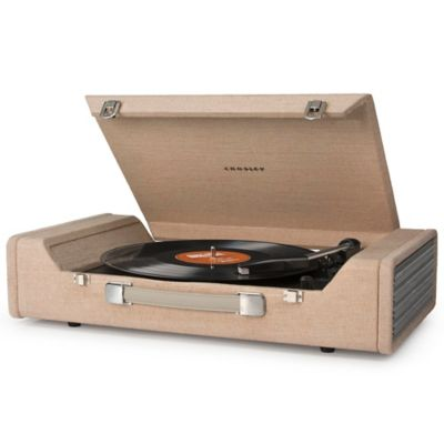 Crosley Nomad USB Portable Turntable in Brown