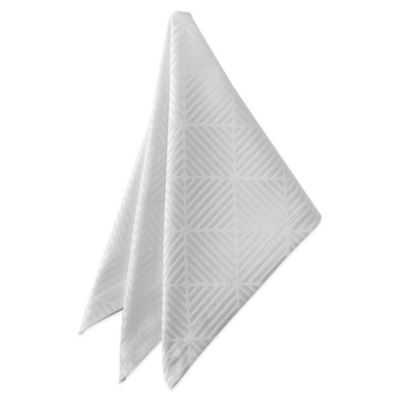Waterford® Stella 21-Inch x 21-Inch Napkin in Pearl