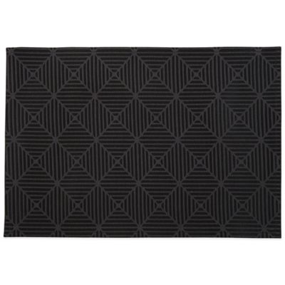Waterford® Stella 13-Inch x 19-Inch Placemat in Black