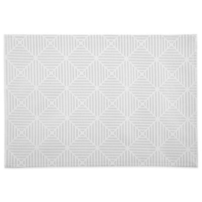 Waterford® Stella 13-Inch x 19-Inch Placemat in Pearl