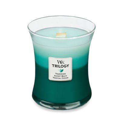 WoodWick® Trilogy Ocean Escape 10 oz. Jar Candle