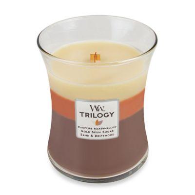 WoodWick® Trilogy Sunset Bonfire 10 oz. Jar Candle